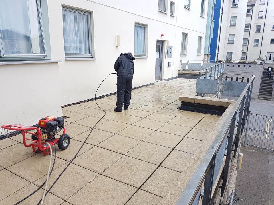 Terrace Cleaning in Edinburgh